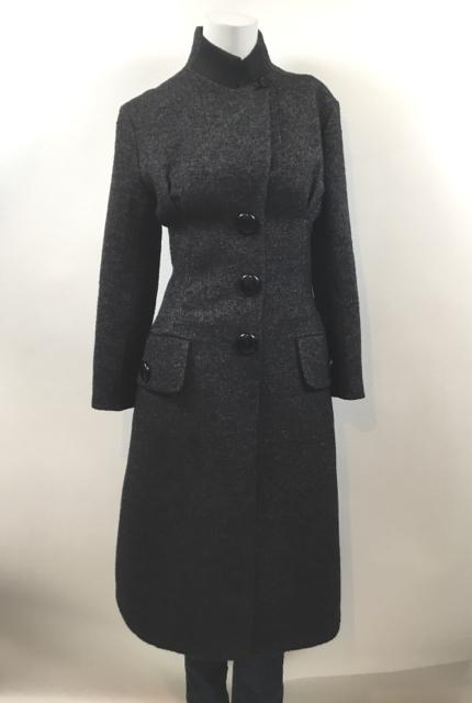 Louis-Vuitton--Size-34-Military-Style--Long-Dark-Grey-Coat_9817A.jpg