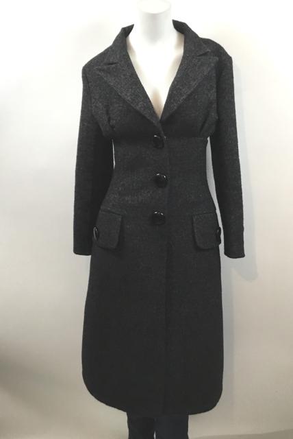 Louis-Vuitton--Size-34-Military-Style--Long-Dark-Grey-Coat_9817B.jpg