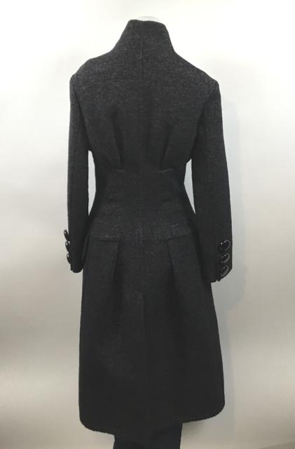 Louis-Vuitton--Size-34-Military-Style--Long-Dark-Grey-Coat_9817F.jpg