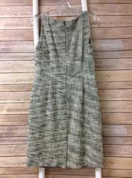 Banana-Republic-Size10P-Cream-Black-Tweed-Woven-Dress-Free-Shipping_2552566B.jpg