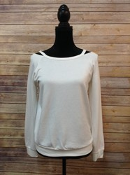 Bebe-SIZE-M-White-Split-Neck-Sweatshirt_2853630A.jpg