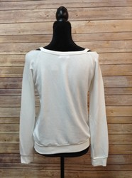 Bebe-SIZE-M-White-Split-Neck-Sweatshirt_2853630B.jpg