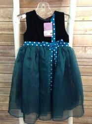 Rayon-velvet-SIZE-2T-Teal-Green-w-White-Dots-Dress_2889874A.jpg
