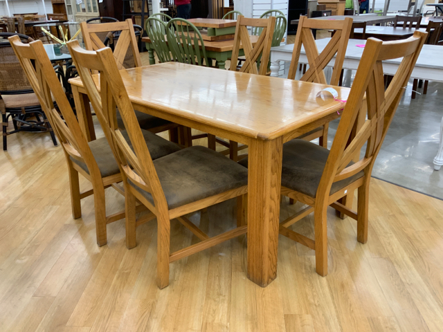 Fabulous Dining Table 6 Chairs Machost Co Dining Chair Design Ideas Machostcouk