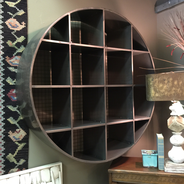 40 R Round Metal Wall Cubby_15078A