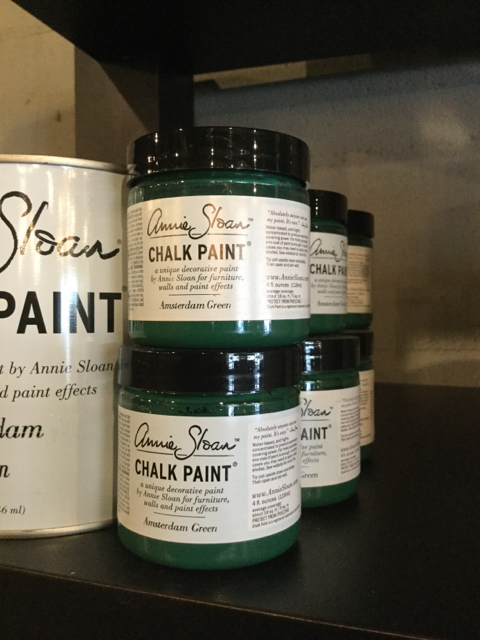 Amsterdam Green Chalk Paint 194 174 By Annie Sloan Sample Pot