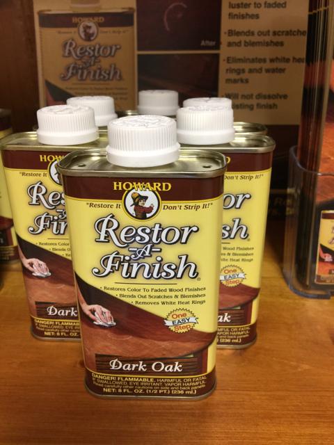 Restor A Finish Dark Oak 8 Oz Invio Fine Furniture Consignment