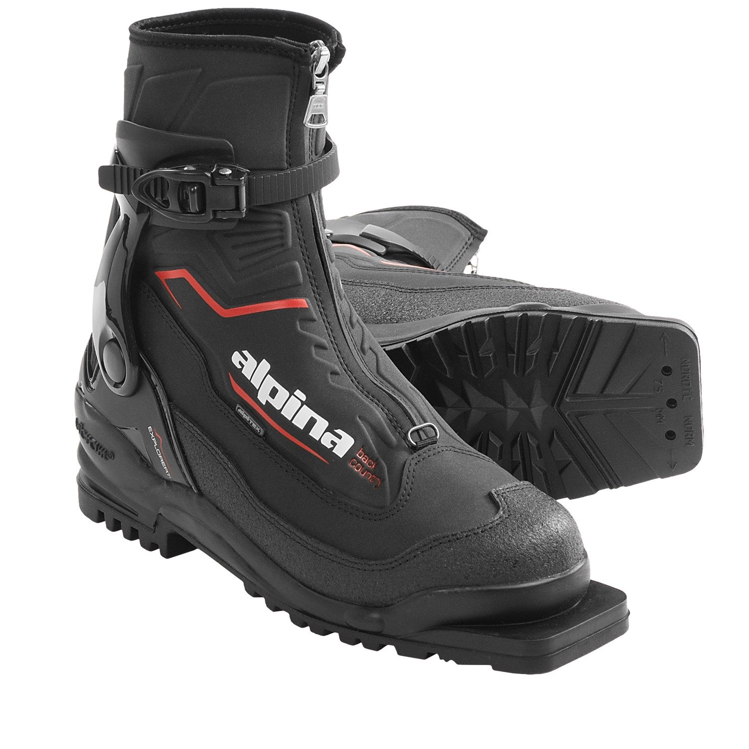 Alpina Explorer Nordic Touring Boots CLOSEOUT Moab Gear Trader - Alpina backcountry skis