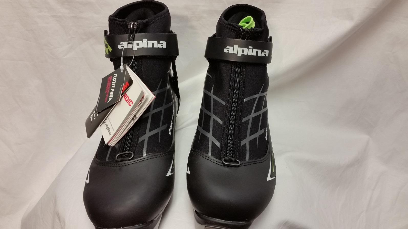 Alpina T Plus Nordic Ski Boots NNN CLOSEOUT Moab Gear Trader - Alpina nordic boots