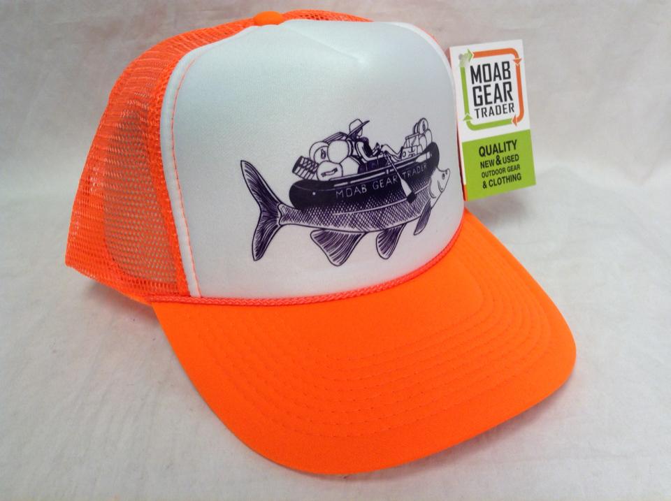 ddef3be2a Humpback Chub Foam Trucker Hat - NEON