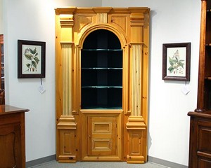 Habersham Antique Corner Cabinet