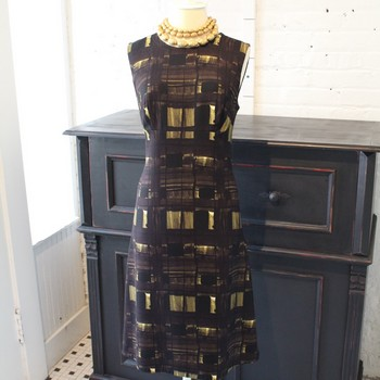 Prada-Size-42-BlackBrownGold-Geometric-Print-Sleeveless-Dress_64468A.jpg