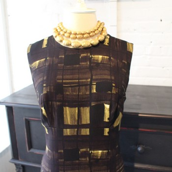 Prada-Size-42-BlackBrownGold-Geometric-Print-Sleeveless-Dress_64468B.jpg