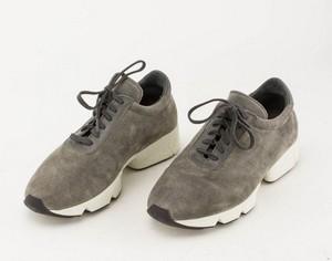 AXEL ARIGATO Gray Suede Sneakers