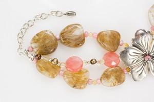 BARSE-Sterling-Silver-Hibiscus-Flower-Bracelet--Earrings-Set-w-Pink--Tan_261324B.jpg