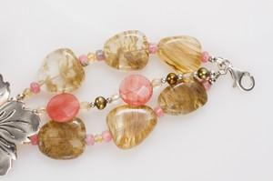 BARSE-Sterling-Silver-Hibiscus-Flower-Bracelet--Earrings-Set-w-Pink--Tan_261324C.jpg
