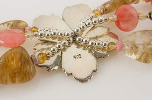 BARSE-Sterling-Silver-Hibiscus-Flower-Bracelet--Earrings-Set-w-Pink--Tan_261324F.jpg