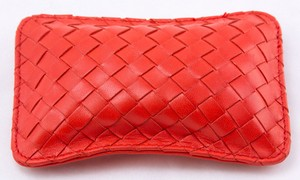 BOTTEGA VENETA Red intrecciato leather fragrance sachet