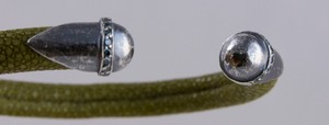 BRACELET-Olive-green-stingray-cuff-with-silver-tips-and-blue-diamond-accents_240995D.jpg