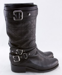 CHRISTIAN-DIOR-Black-leather-quilted-strappy-buckled-biker-boots-size-6-36_262831F.jpg
