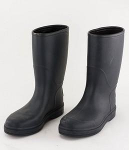GUCCI Slate Blue Rubber Rain Boots Unisex