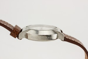 HERMES-Brown-Leather-Watch-with-Silver-Round-Face_259663E.jpg