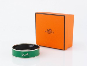 HERMES Green Bangle Size 65