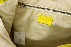 J-CREW-Yellow-Leather-Shoulder-Bag-w-Adjustable-Strap-Side-Pockets--Zip-Top_261900H.jpg