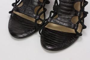 KENNETH-KOLE-Black-Snakeskin-Strappy-Wedge-Sandals-w-Zipper-on-Heel-Size-7.5_262579F.jpg