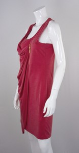LAMAZI Light red sleeveless dress with zipper trim size EU 40 NWT