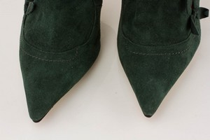 MANOLO-BLAHNIK-Green-Suede-Short-Pointed-Toe-Booties-with-Bow-Accents_279971F.jpg