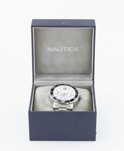 NAUTICA Stainless Steel Men's Watch with Box