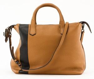 REED-KRAKOFF-Tan-and-black-leather-double-handle-shoulder-bag-pewter-hardware_257390B.jpg