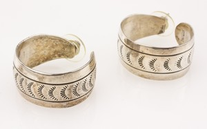 STERLING-Silver-Hoop-Earring-with-Tribal-Pattern_268364B.jpg