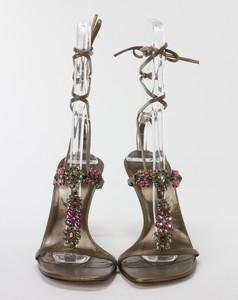 STUART-WEITZMAN-Bronze-Lace-Up-Kitten-Heels-w-Pink--Orange-Floral-Jewels-Size-8_255743D.jpg