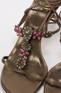 STUART-WEITZMAN-Bronze-Lace-Up-Kitten-Heels-w-Pink--Orange-Floral-Jewels-Size-8_255743K.jpg