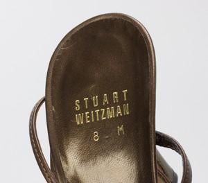 STUART-WEITZMAN-Bronze-Lace-Up-Kitten-Heels-w-Pink--Orange-Floral-Jewels-Size-8_255743L.jpg