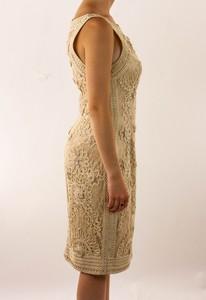 SUE-WONG-Tan-Scrolled-Sleeveless-Dress-with-Flower-Detailing_286013C.jpg