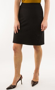 SUSANA MONACO Black Pencil Stretch Skirt