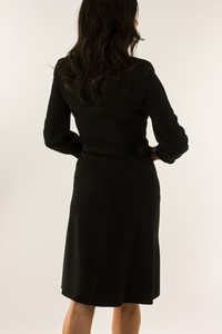 VIKTOR--ROLF-Black-long-sleeve-jersey-knit-dress-wremovable-belt-size-EU-40_234884B.jpg