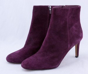 VINCE CAMUTO Purple suede stiletto ankle boots size 10