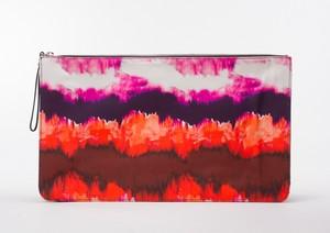 ZARA-BASIC-Orange--Multicolored-Tie-Dye-Striped-Abstract-Printed-Clutch_261640B.jpg