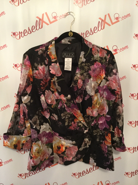 Alex-Evenings-Size-XL-Multicolor-Floral-Blazer-with-See-Through-Sleeves_2983A.jpg