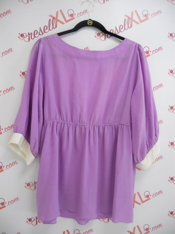 Amanda-Uprichard-Size-16W-Purple-Silk-Short-Sleeve-Blouse_2964B.jpg