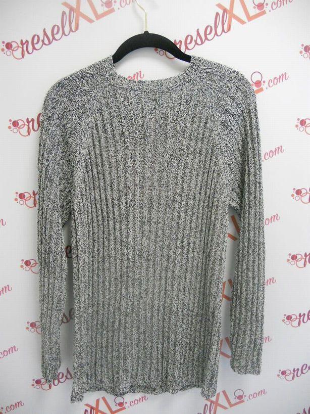 Anne-Klein-Size-2X-Navy-and-White-Light-Weight-Sweater_2958B.jpg