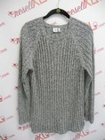Anne-Klein-Size-2X-Navy-and-White-Light-Weight-Sweater_2958A.jpg