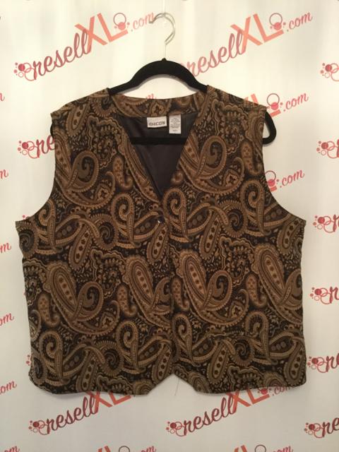 Chicos-Size-3-BrownBlack-Paisley-Vest-XL_2892A.jpg