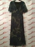 Dana-Buchman-Size-14-Blue-Green-Print-Wrap-Dress_2931A.jpg
