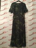 Dana-Buchman-Size-14-Blue-Green-Print-Wrap-Dress_2931B.jpg