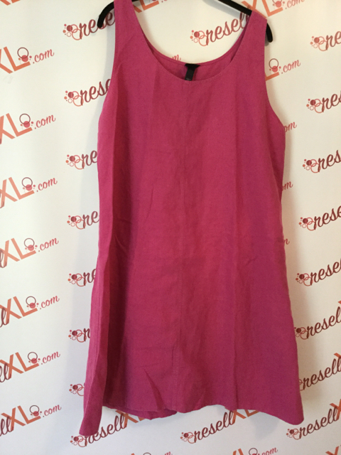 Eileen-Fisher-Size-XL-Pink-Linen-Sleeveless-Dress_3211A.jpg